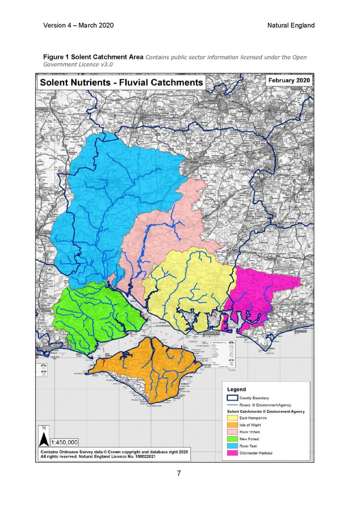 Nutrient Neutrality for new development in the Solent